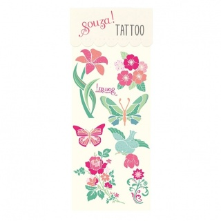 Bloemen tattoos (Souza for Kids)