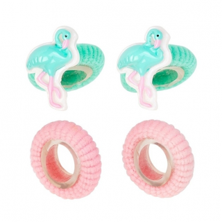 Haarelastiekjes Flamingo Lora (Souza for Kids)