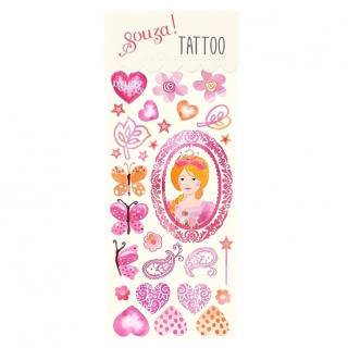 Prinsessen tattoos (Souza for Kids)