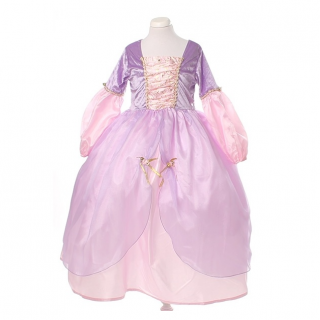 Rapunzel Deluxe jurk (Little Adventures)