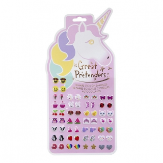 Unicorn oorstickers (30 paar) (Great Pretenders)