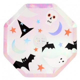 Halloween icons bordjes (8st) (Meri Meri)