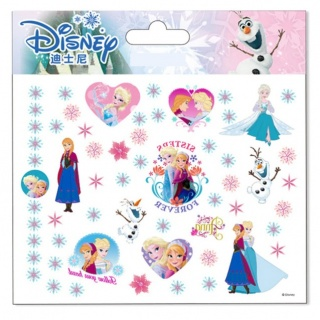 Disney Frozen Tattoos (Prinsessenjurk.nl)