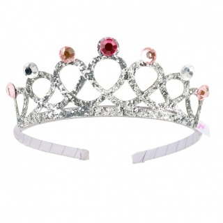 Kroon tiara Emy zilver (Souza for Kids)