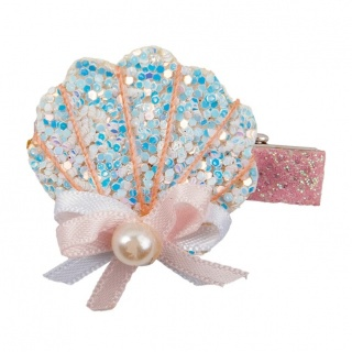 Boutique Sparkle Shell haarclip (Great Pretenders)