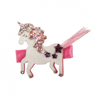 Boutique haarclip Tassy Tail Unicorn (Great Pretenders)
