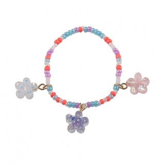 Boutique armband Shimmer Flower (Great Pretenders)